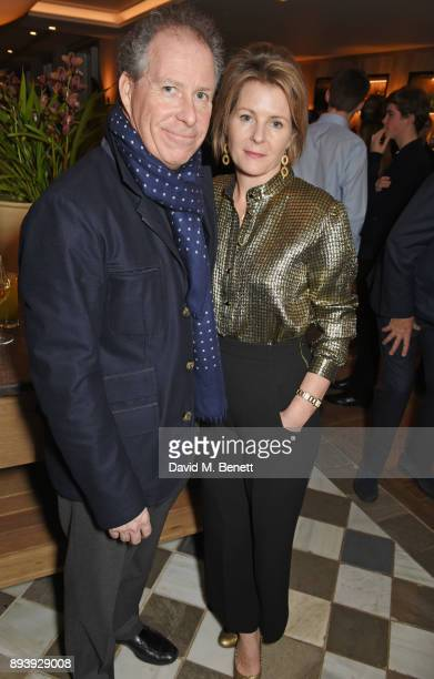 David ArmstrongJones Earl of Snowdon and Serena ArmstrongJones Countess of Snowdon attend Alexander Dundas's 18th birthday party hosted by Lord and...