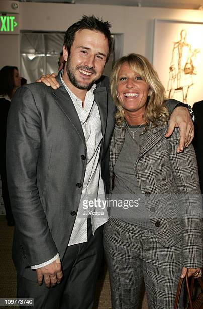 David Arquette and Cynthia Pett Dante during Coach Flagship Store Opening on Rodeo Drive at Coach Store in Beverlry Hills California United States