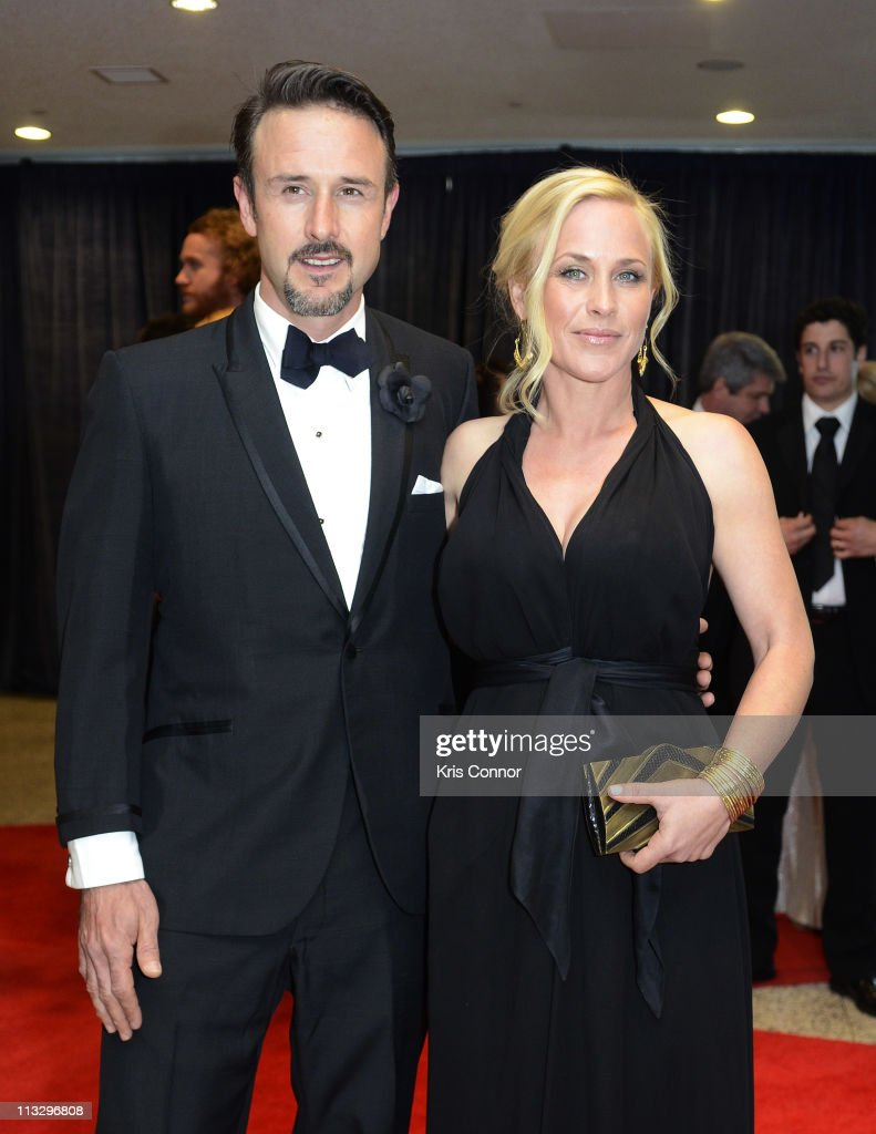 David Arquette and Patricia Arquette attend the 2011 White House Correspondents' Association Dinner at the Washington Hilton on April 30, 2011 in Washington, DC.