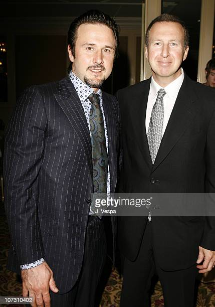 David Arquette and Steven Siebert during AFI Honors Hollywood's Arquette Family With The Sixth Annual 'Platinum Circle Awards' Green Room and Show in...
