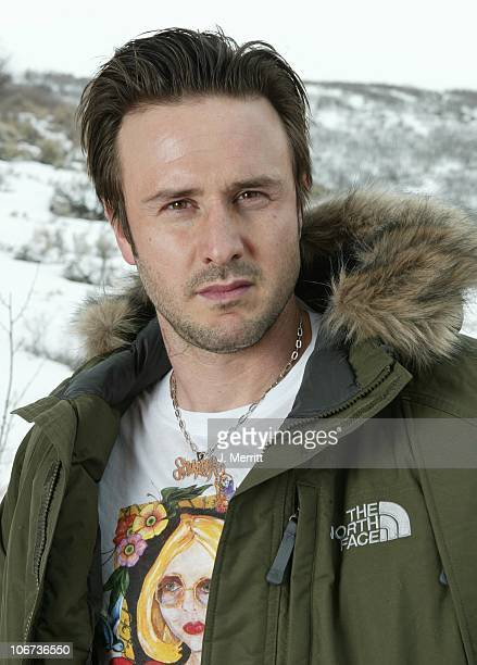 David Arquette and The North Face during 2004 Sundance Film Festival Hot House Day 5 at Deer Valley Private Residence in Deer Valley Utah United...