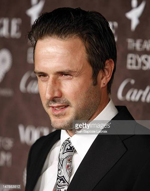 David Arquette arrives at the Art of Elysium 2nd Annual Heaven Gala held at Vibiana on January 10, 2009 in Los Angeles, California.