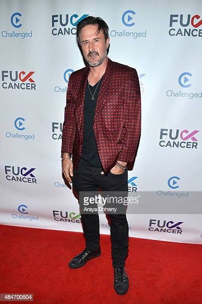 David Arquette attends the FCancer Benefit Event at Bootsy Bellows on August 20 2015 in West Hollywood California