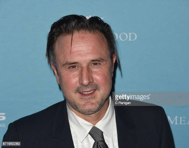 David Arquette attends the screening of 'Amanda and Jack Go Glamping' during the 7th Annual Napa Valley Film Festival at the Jam Cellars Ballroom on...