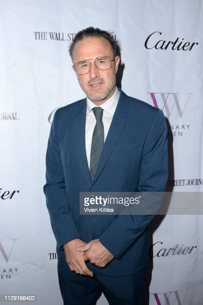 David Arquette attends Visionary Women's International Women's Day Honoring Patricia and Rosanna Arquette at Spago on March 7, 2019 in Beverly Hills,...