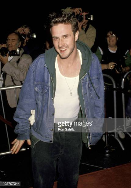 """David Arquette during """"8 Seconds"""" Los Angeles Premiere at Directors Guild in Hollywood, California, United States."""