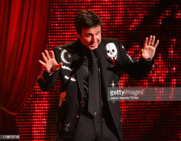 David Arquette during Spike TV's Scream Awards 2006 Show at Pantages Theater in Hollywood California United States