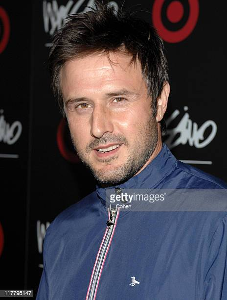 David Arquette during Target Hosts LA Fashion Week Party for Designer Mossimo Giannulli at Area in Los Angeles California United States