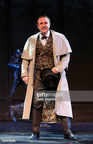 David Arquette during the opening night performance of Sir Arthur Conan Doyle's Sherlock Holmes at The Ricardo Montalban Theatre on October 15 2015...