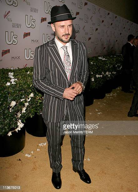 David Arquette during Us Weekly Presents Us' Hot Hollywood 2007 Red Carpet at Sugar in Hollywood California United States