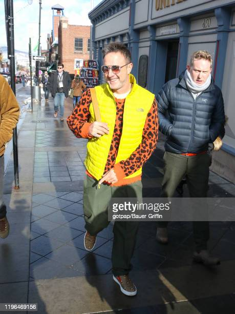 David Arquette is seen on January 25, 2020 in Park City, Utah.