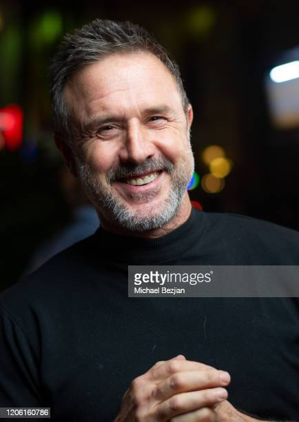 David Arquette poses for portrait at A Gogo by Mash Gallery on February 13, 2020 in Los Angeles, California.