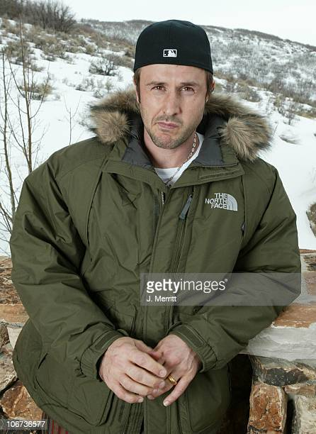 David Arquette with The North Face and New Era *Exclusive*