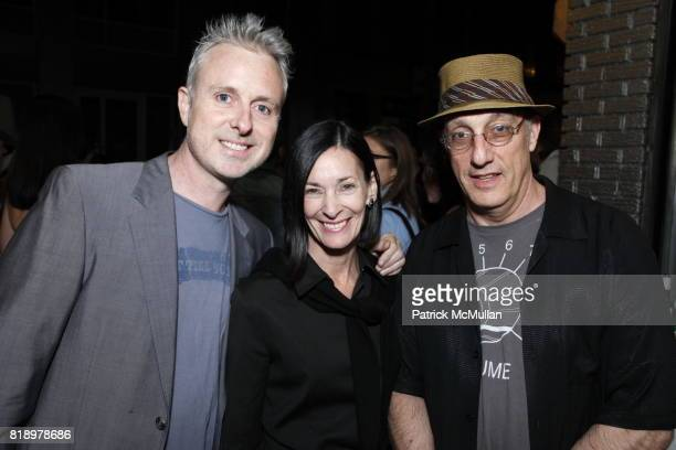 David Art Wales Peter Rosenthal and Amy Rosi attend SHEPARD FAIREY 'May Day' Exhibition Opening Reception at Deitch Projects on May 1 2010 in New York