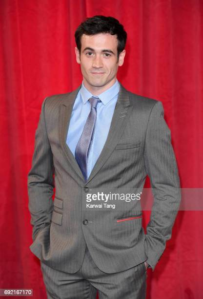 David Atkins attends the British Soap Awards at The Lowry Theatre on June 3 2017 in Manchester England