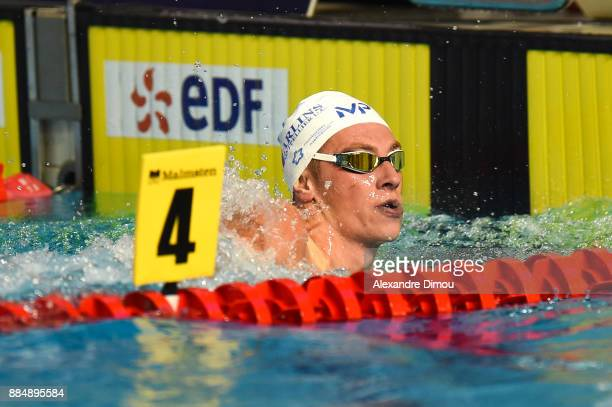 David Aubry in 1500m Freestyle of the French National Swimming Championships on December 3 2017 in Montpellier France