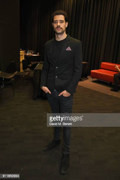 """David Avery attends an exclusive preview screening of new BBC One drama """"Troy: Fall Of A City"""" at BFI Southbank on January 29, 2018 in London,..."""