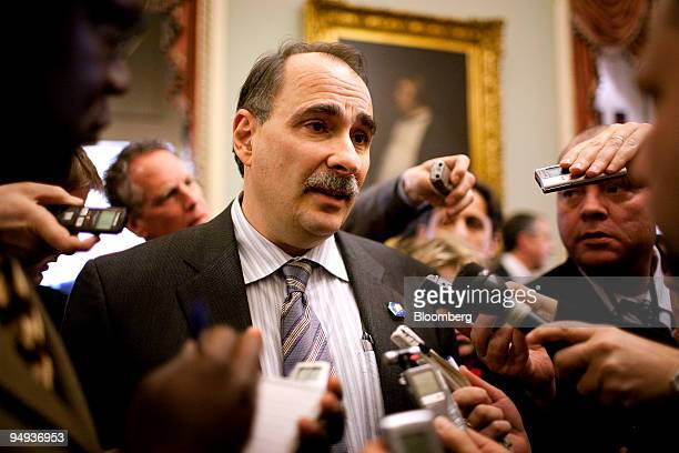 David Axelrod senior adviser to US President Barack Obama comments on the withdrawal of Tom Daschle's nomination to be secretary of health and human...