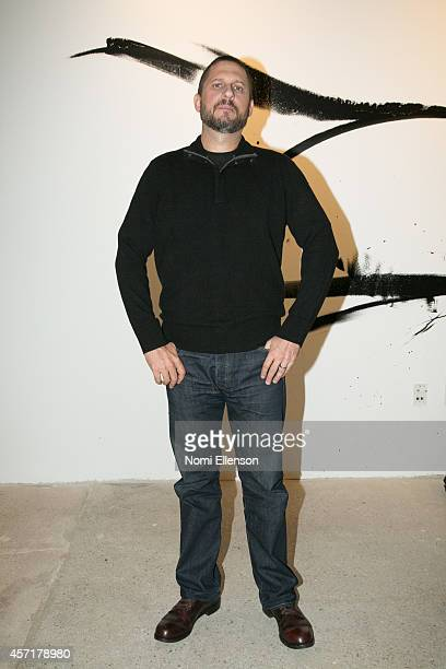 David Ayer attends AOL's BUILD Series Presents: Logan Lerman And Jon Bernthal With Director David Ayer at AOL Studios In New York on October 13, 2014...