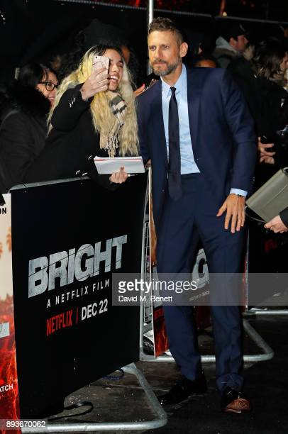 David Ayer attends the European Premeire of 'Bright' held at BFI Southbank on December 15 2017 in London England