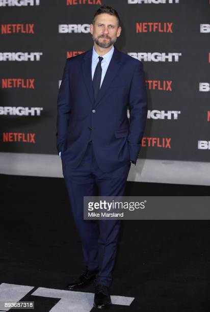 David Ayer attends the European Premeire of 'Bright' held at BFI Southbank on December 15, 2017 in London, England.