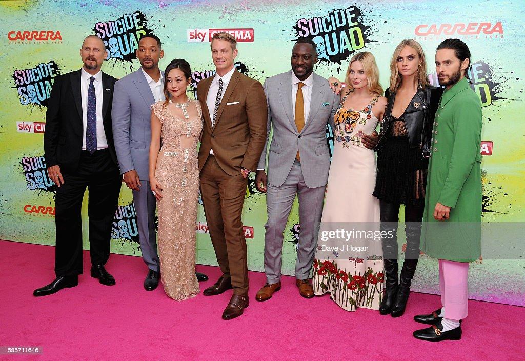 """""""Suicide Squad"""" - European Premiere - VIP Arrivals : News Photo"""