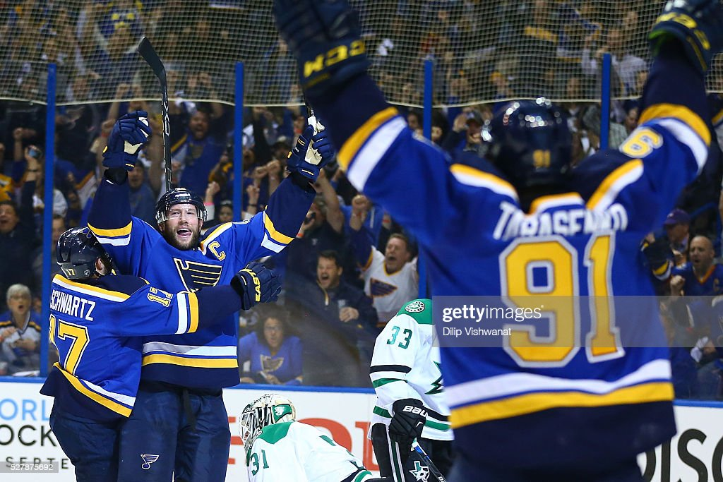 Dallas Stars v St Louis Blues - Game Three