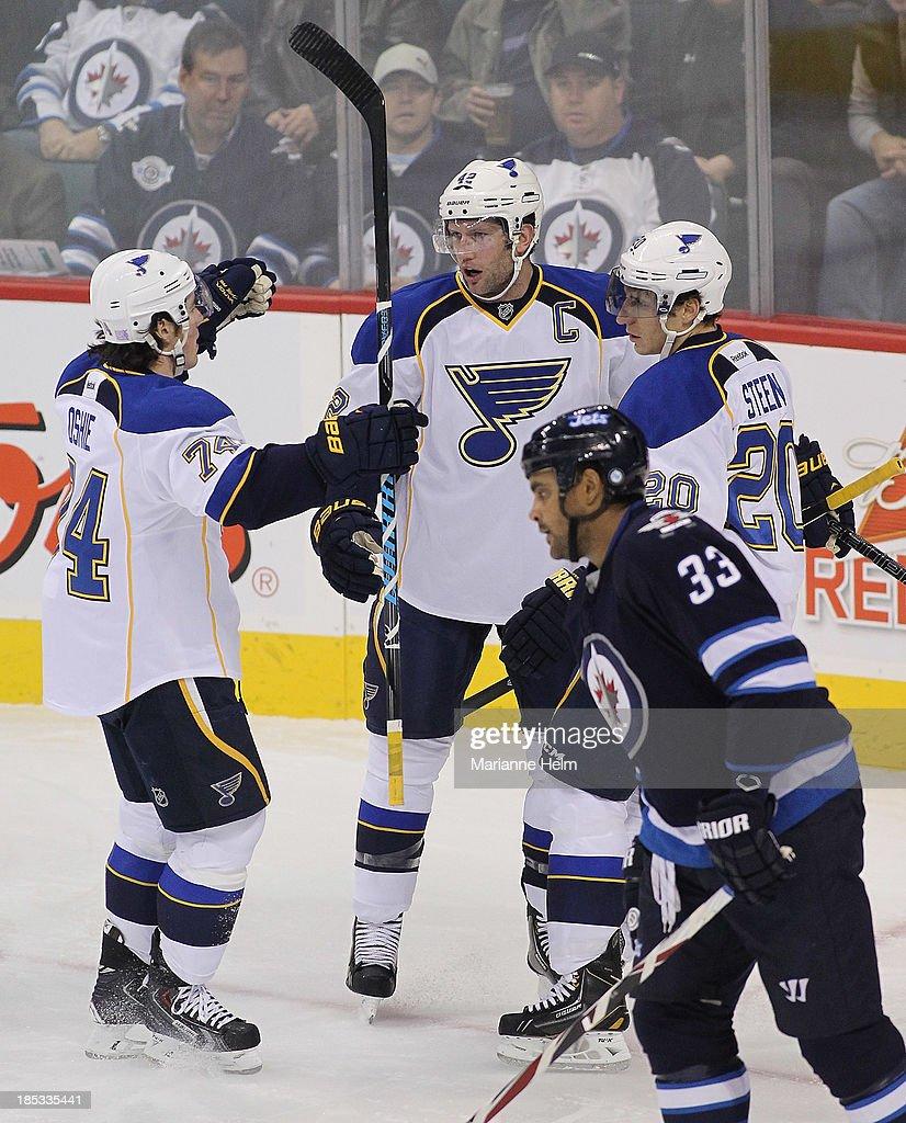 St Louis Blues v Winnipeg Jets : News Photo
