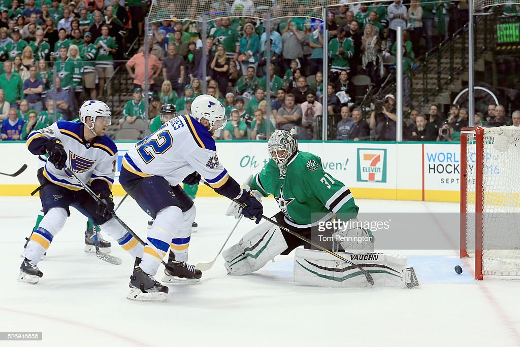 St Louis Blues v Dallas Stars - Game Two
