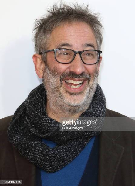 David Baddiel seen at The Kid Who Would Be King Gala screening at the Odeon Luxe Leicester Square