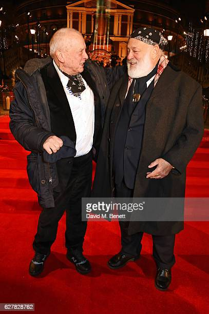 David Bailey and Bruce Weber attend The Fashion Awards 2016 at Royal Albert Hall on December 5, 2016 in London, United Kingdom.