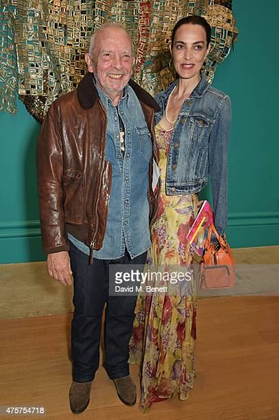 David Bailey and Catherine Bailey attend the Royal Academy of Arts Summer Exhibition preview party at the Royal Academy of Arts on June 3, 2015 in...