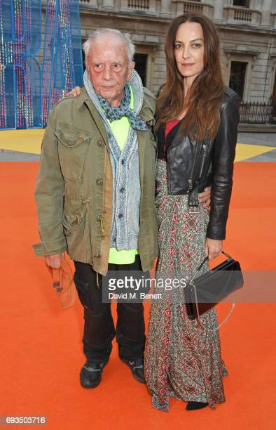 David Bailey and Catherine Bailey attend the Royal Academy Of Arts Summer Exhibition preview party at Royal Academy of Arts on June 7, 2017 in...