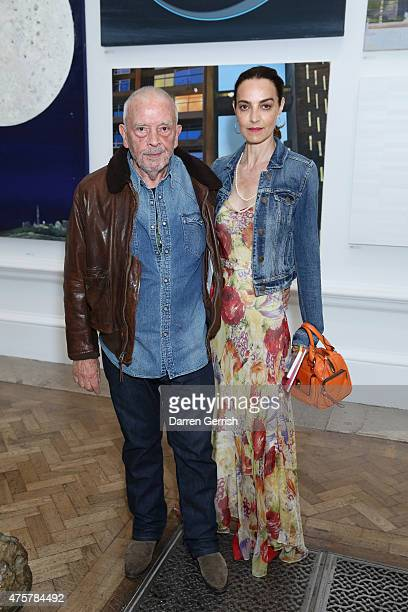 David Bailey and Catherine Bailey attend the Summer Exhibition Preview Party at Royal Academy of Arts on June 3 2015 in London England