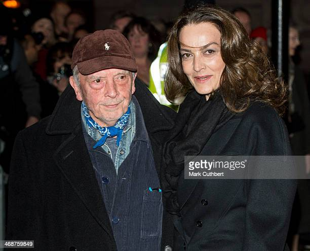 David Bailey and Catherine Dyer attend The Portrait Gala 2014 Collecting To Inspire at National Portrait Gallery on February 11 2014 in London England