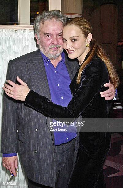 David Bailey and his wife Catherine attend the Launch Party for David Bailey's Book Chasing Rainbows hosted by Lucy Yeomans at Gordon Ramsay's...