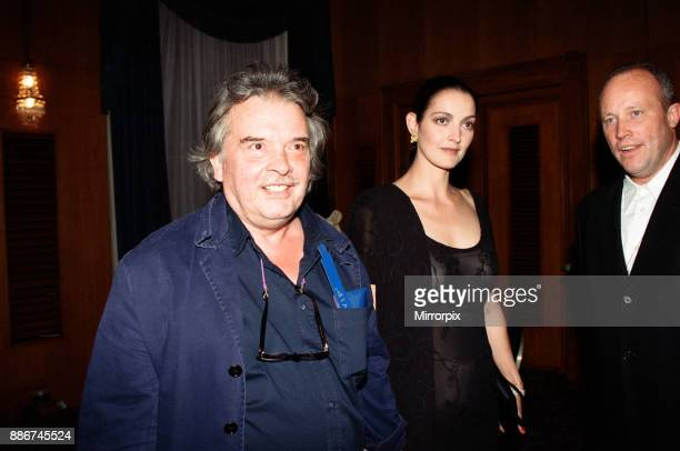 David Bailey and wife Catherine attending the Elite Model Look of the Year competition Connaught Rooms London 23rd July 1997