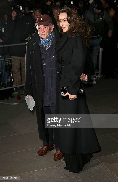 David Bailey and wife Catherine Bailey attend The Portrait Gala 2014 Collecting To Inspire at National Portrait Gallery on February 11 2014 in London...