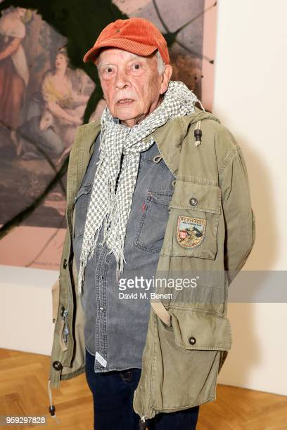 David Bailey attends Pace Gallery Celebrates Julian Schnabel at 6 Burlington Gardens on May 16, 2018 in London, England.