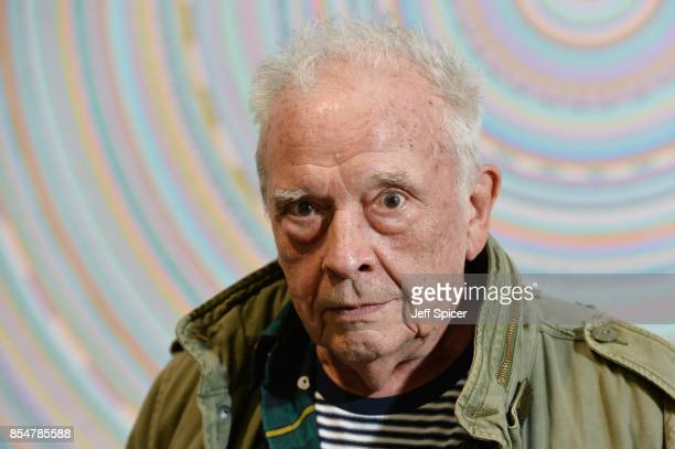 David Bailey attends the 'Benbai Expo' private view at The Barge House on September 27 2017 in London England