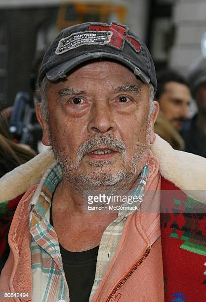 David Bailey attends the Linda McCartney Photographs Private View at the James Hyman Gallery on April 23, 2008 in London, England.