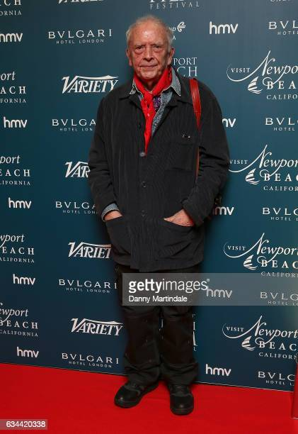 David Bailey attends the Newport Beach Film Festival Honours on February 9, 2017 in London, United Kingdom.