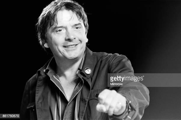 David Bailey making the Greenpeace antifur film 'Dumb Animals' 21st June 1985