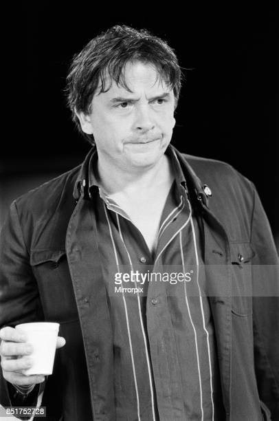 David Bailey making the Greenpeace antifur film 'Dumb Animals' 21st June 1985