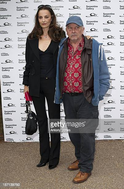David Bailey Wife Catherine Arriving At The Serpentine Summer Party 2009 The Serpentine Gallery Hyde Park London