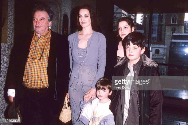 David Bailey with his son Fenton Bailey and family
