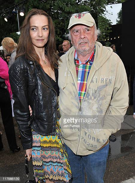 David Bailey with his wife Catherine attend The Serpentine Gallery Summer Party on June 28 2011 in London England