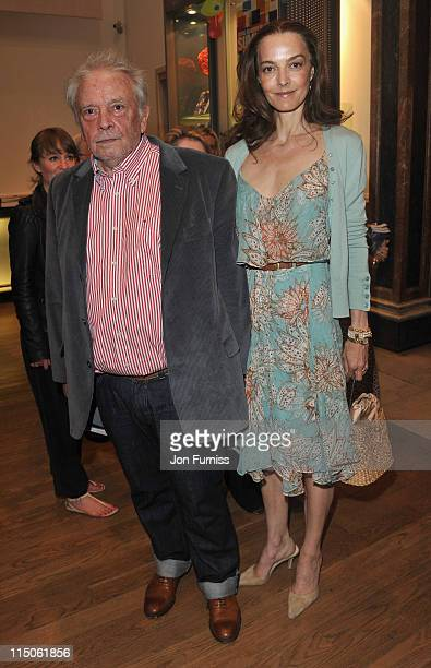David Bailey with his wife Catherine attends The Royal Academy of Arts Summer Exhibition Preview Party held the at Royal Academy of Arts on June 2...