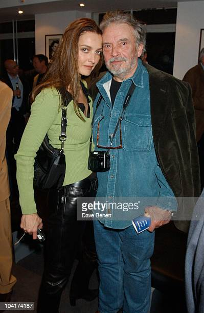 David Bailey With Wife Catherine David Bailey Locations The 1970s Archive Book Launch Party At Lowes Advertising Agency In London