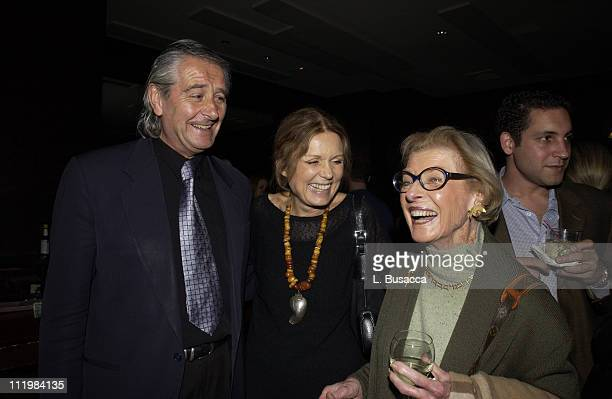 David Bale Gloria Steinem and Maurine Rothschild during Equality Now Celebrates it's 10th Anniversary at The Gramercy Theater in New York City New...